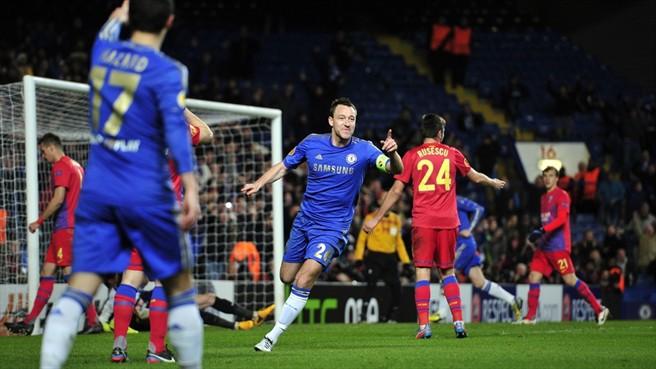 Steaua Chelsea 3-1