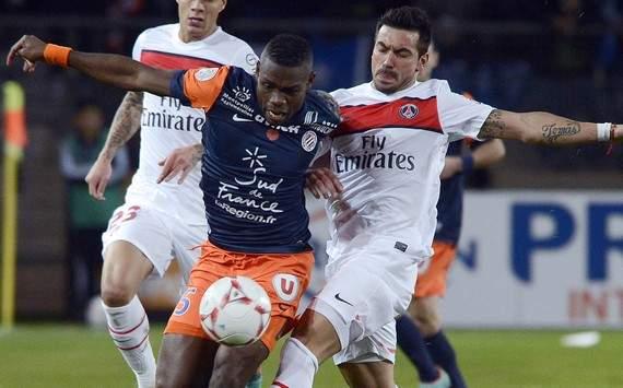 Montpellier - PSG LIGUE 1 2013-2014