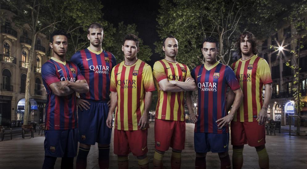 Tricouri Barcelona 2013-2014