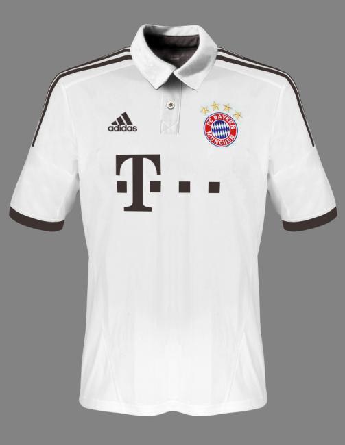 tricouri rezerva Bayern Munchen 2013 2014