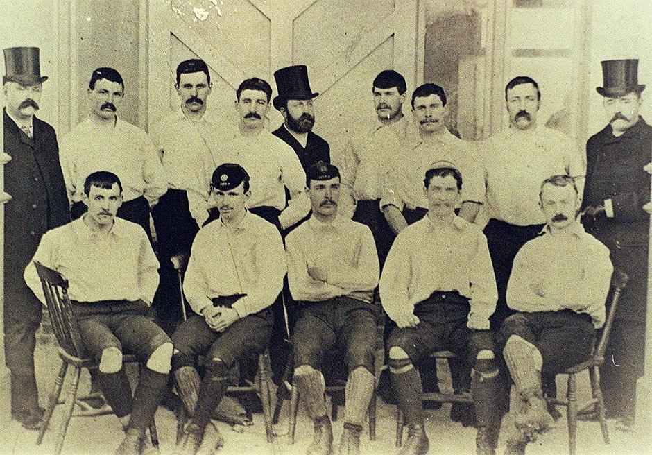 Preston North End, unbeaten in 22 games 1888