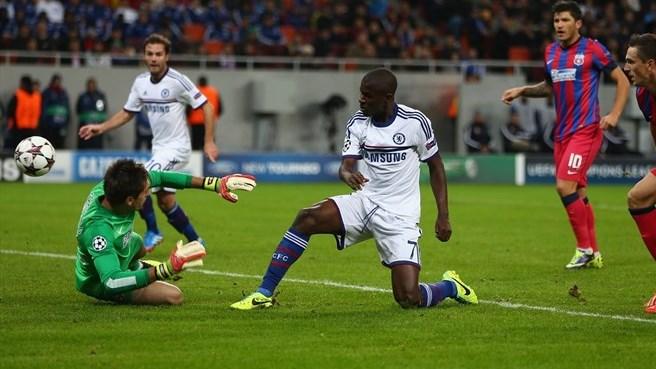 Steaua Chelsea 0-4