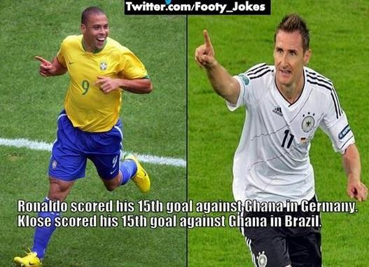 Klose V Ronaldo