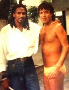 Carlos Kaiser și Mauricio în perioada Botafogo
