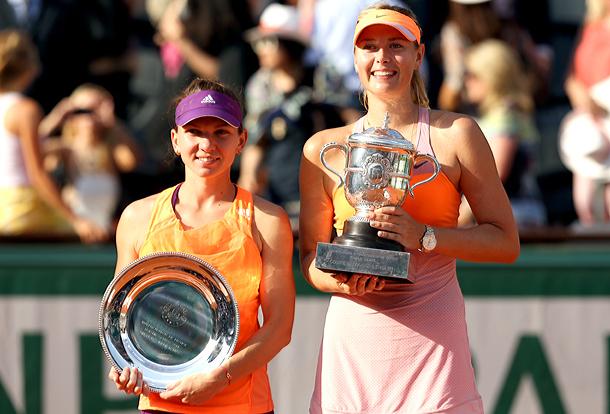 Halep Sharapova match of the year
