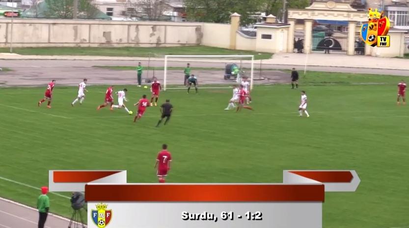 Romeo Surdu goal