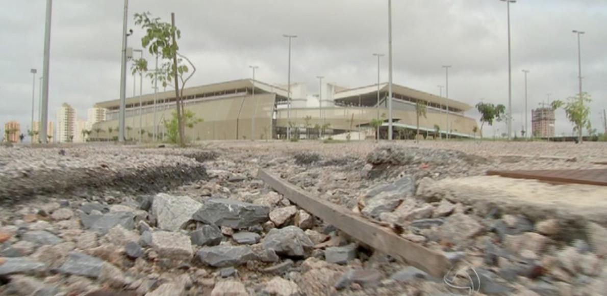 Arena Pantanal, Cuiaba ( sursă foto captură youtube )