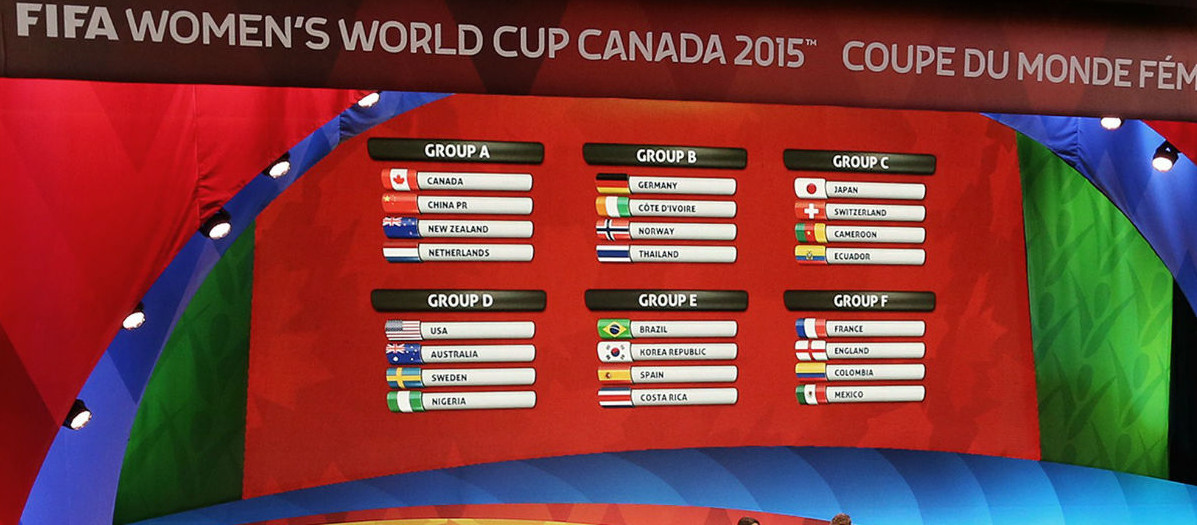 women world cup 2015 canada 2015 groups