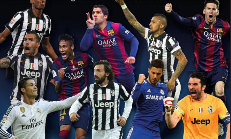 uefa best player 2014-2015