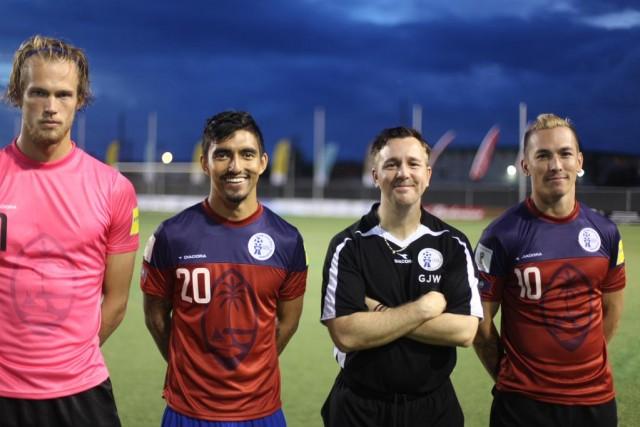 Noul echipament lansat de Guam inaintea meciului cu Oman arata foarte bine / Sursa: Scott McIntyre