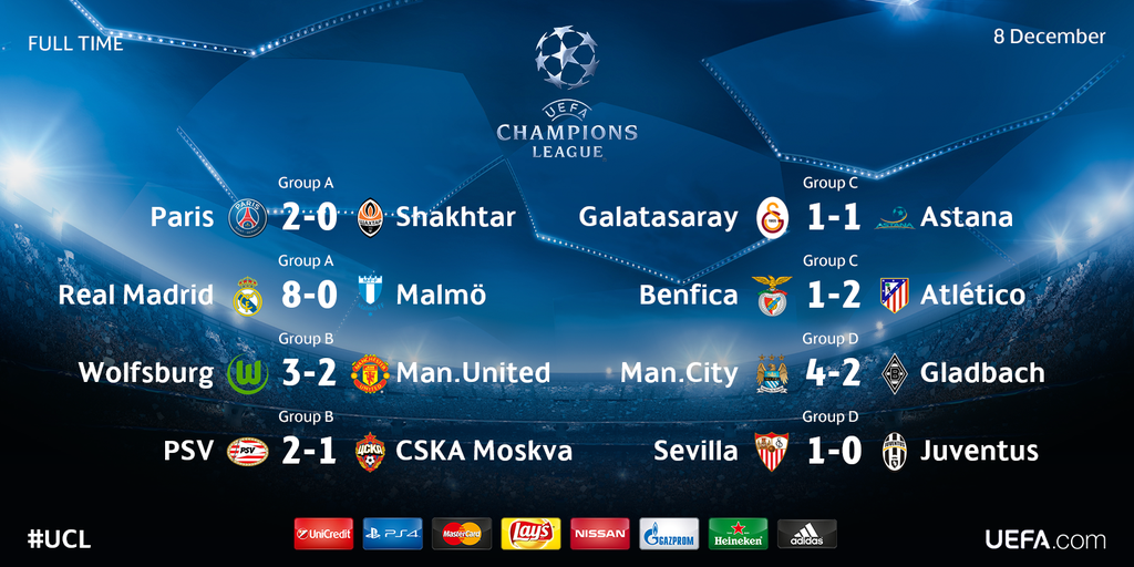 Sursa: twitter.com/ChampionsLeague