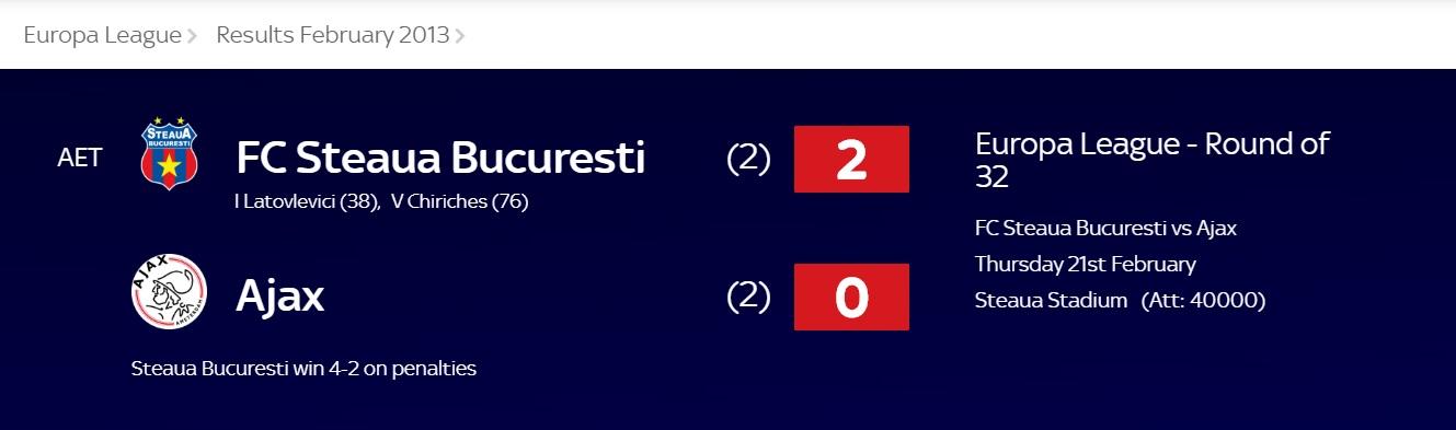 Steaua-Ajax
