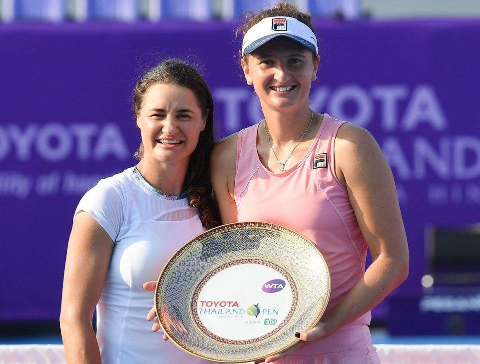 Irina Begu și Monica Niculescu (Hua Hin Thailanda)