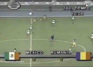 Mexic vs. România, 1993