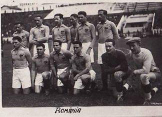 Echipa națională a României de la sfârșitul anilor 1920.