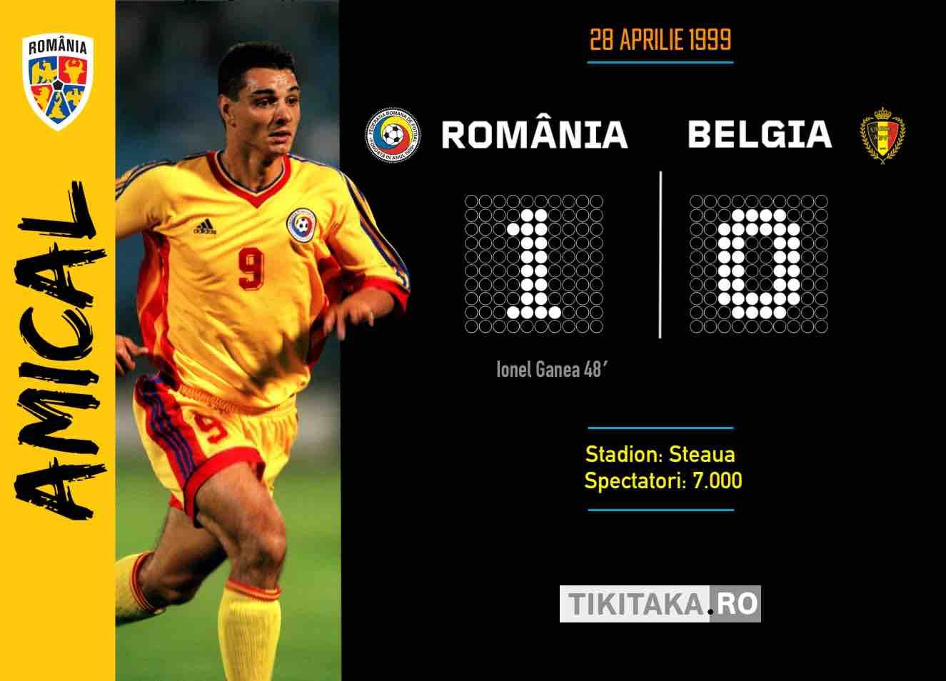 Romania Belgia 1999
