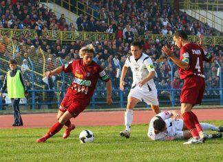 U Cluj vs CFR Cluj, 2008