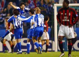 Deportivo 4-0 AC Milan, 2004