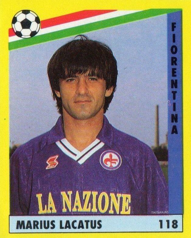 Marius Lăcătuș Fiorentina