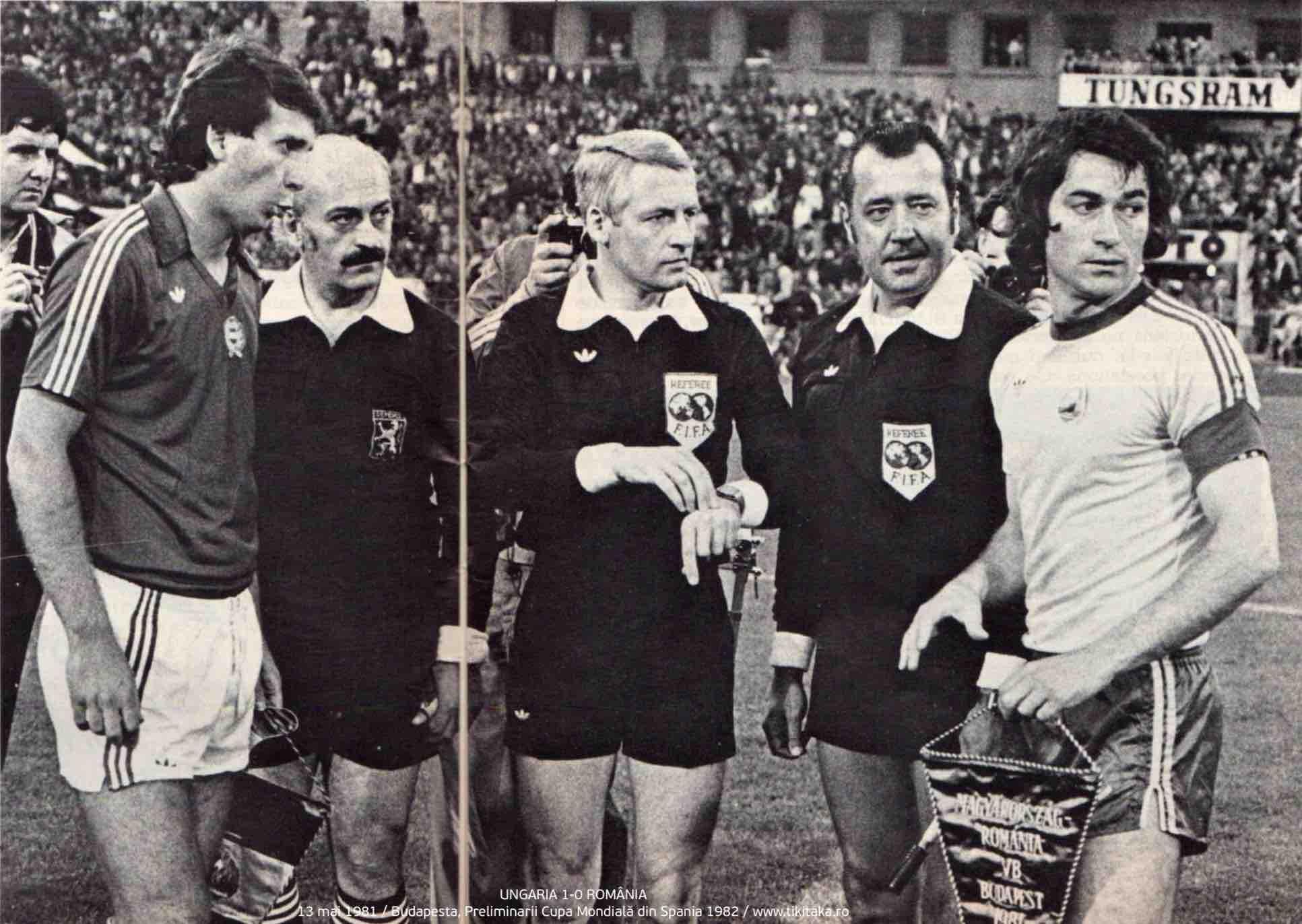 Ungaria 1-0 Romania 1981