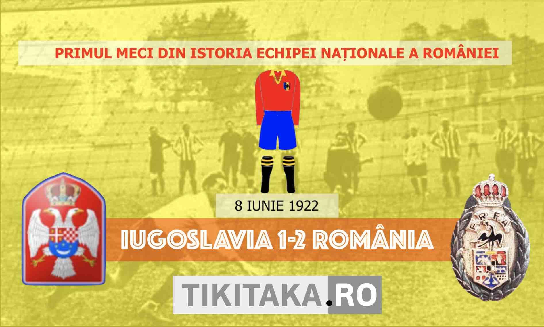 Iugoslavia vs România, 8 iunei 1922
