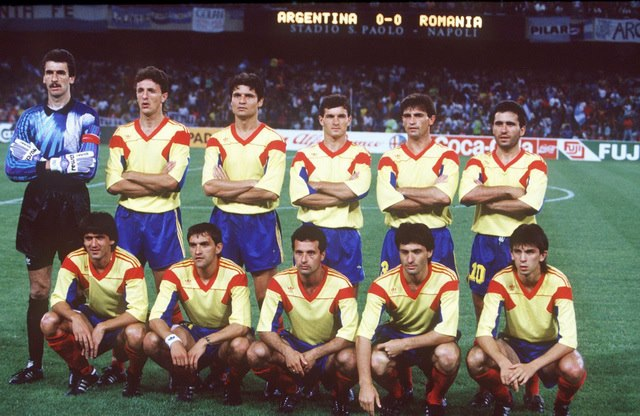Romania Argentina 1990
