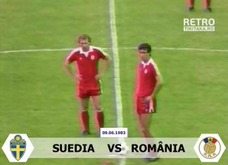 Suedia Romania 1983
