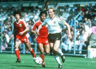 Romania Germania 1984 Hagi Rummenigge