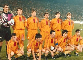 Romania - Scotia 1-0, 16 oct. 1991