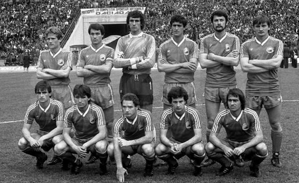 România - Irlanda de Nord, 1986