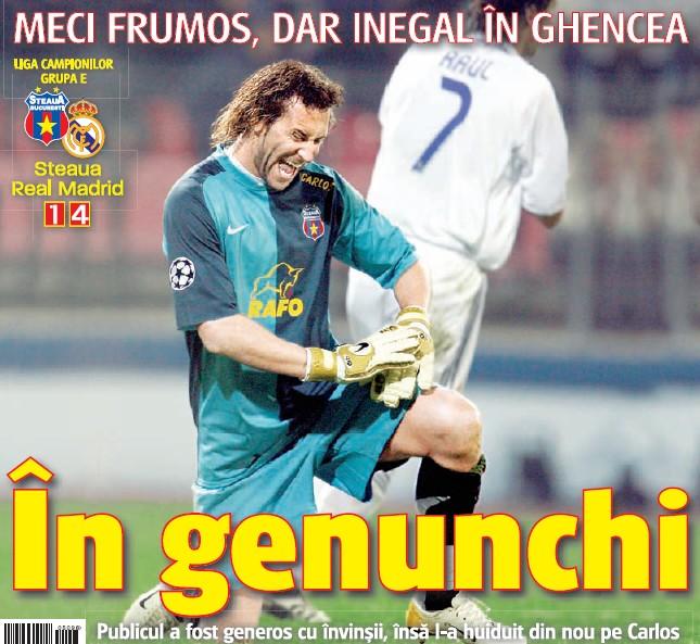Steaua 1-4 Real Madrid (17.10.2006)