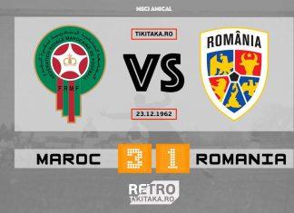 Maroc Romania 1962