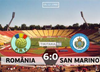 Romania San Marino 1990