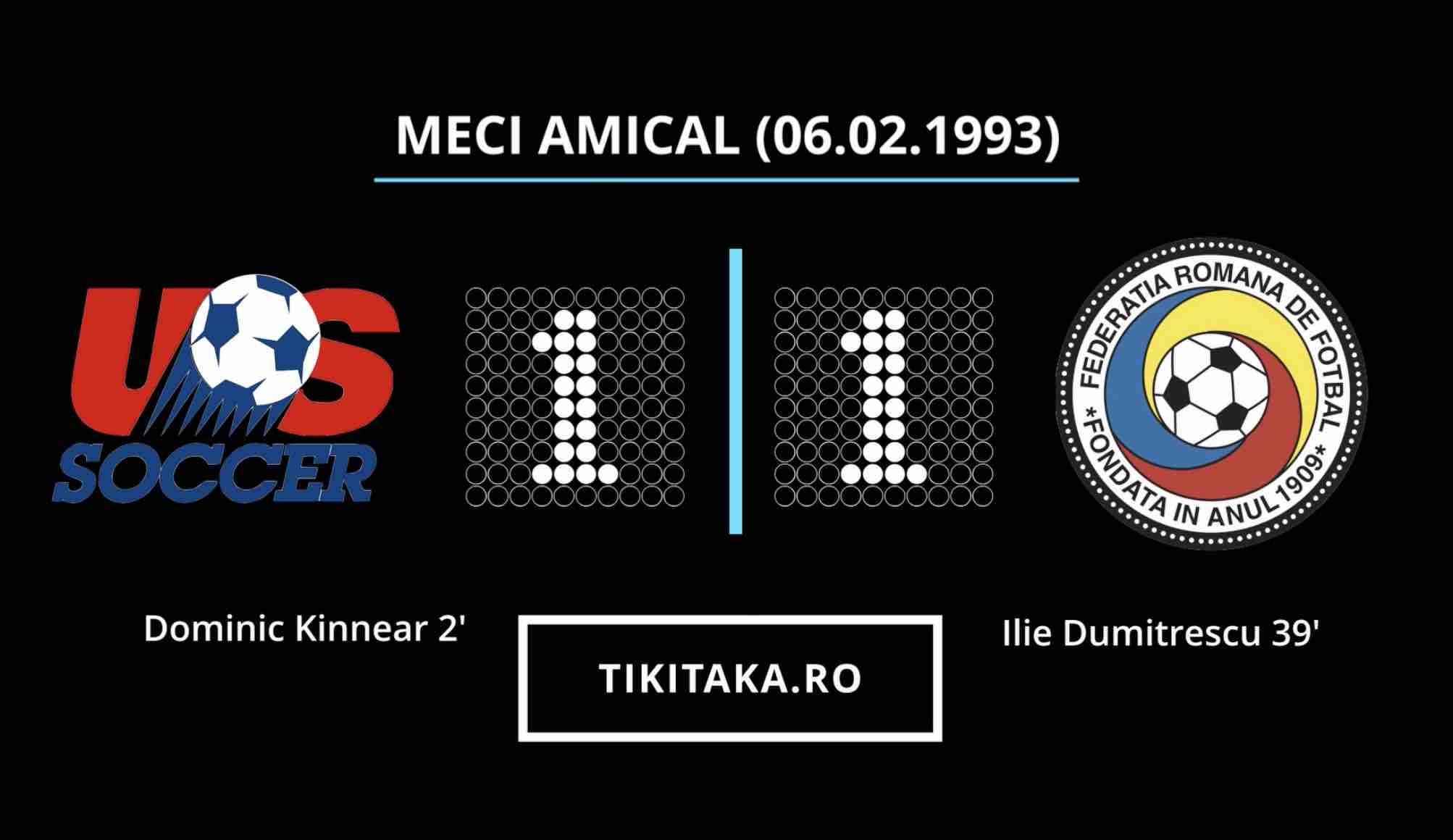 SUA ROMANIA 1993