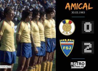 Romania Iugoslavia 1983