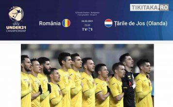 Romania U21 - Olanda U21