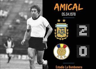 Argentina 2-0 Romania 1978