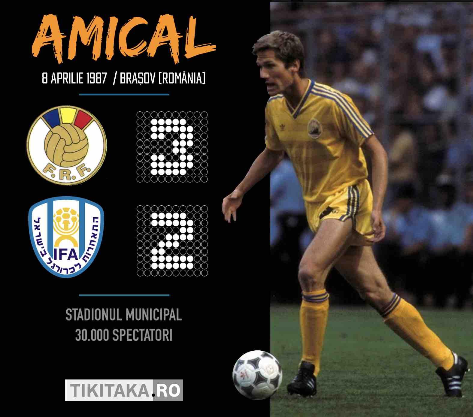 Romania Israel 1987