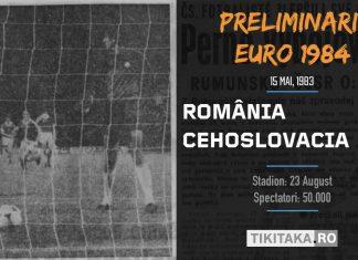 ROMANIA - CEHOSLOVACIA 1983