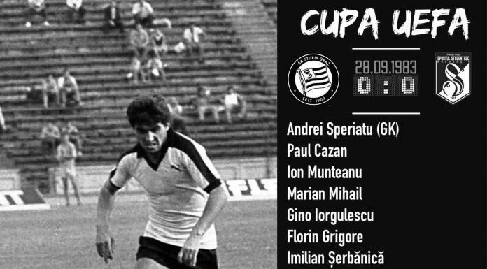 Sturm Graz Sportul 1983